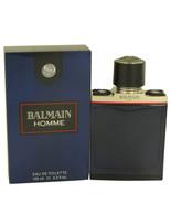 Balmain Homme by Pierre Balmain Eau De Toilette Spray 3.4 oz - $48.70