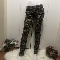 Michael Kors Animal Print Straight Leg Pant Size 8 - $58.41