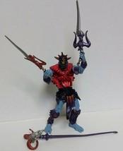Battle Sounds Skeletor HeMan Weapons Staff Sword Vtg Card Action Figure ... - $24.88