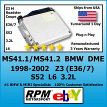 BMW Z3 M (E36/7) DME MS41.1 (MS41.2) S52 L6 3.2L 1998-2002 / RPM Motorsport - $388.03