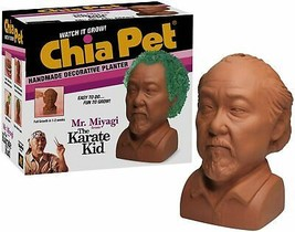 Chia Pet Mr. Miyagi from The Karate Kid Decorative Pottery Planter - $19.99