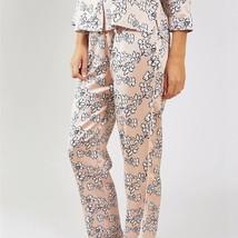Pretty You London Womens Nightwear Trousers Floral in Blush Pink - Mediu... - $52.00