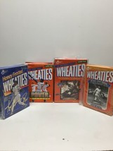 Lot Of 4 Wheaties Boxes Baseball Collectibles Ruth Robinson Griffey Jr Power Hit - $58.04