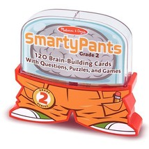 Melissa & Doug Smarty Pants Deluxe Brain Building Card Set - Grades 1 and 2 - $42.18