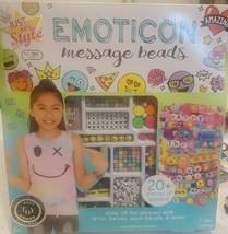 Emoticon Message Beads Letter Beads Word Beads Make DIY Bracelets Kit Fe... - $11.29