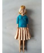 Vintage Barbie Midge Doll Mattel 1960's Freckles Blonde Hair Retro Outfit - $42.30