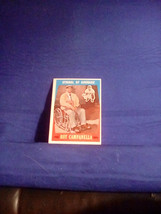 1959 Topps Symbol of Courage Roy Campanella #550 - $100.00