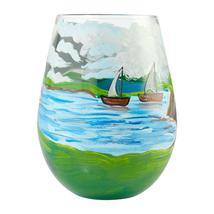 "Adirondack ""Designs by Lolita"" Stemless Wine Glass 20 o.z. 4.53"" H Giftbox image 3"