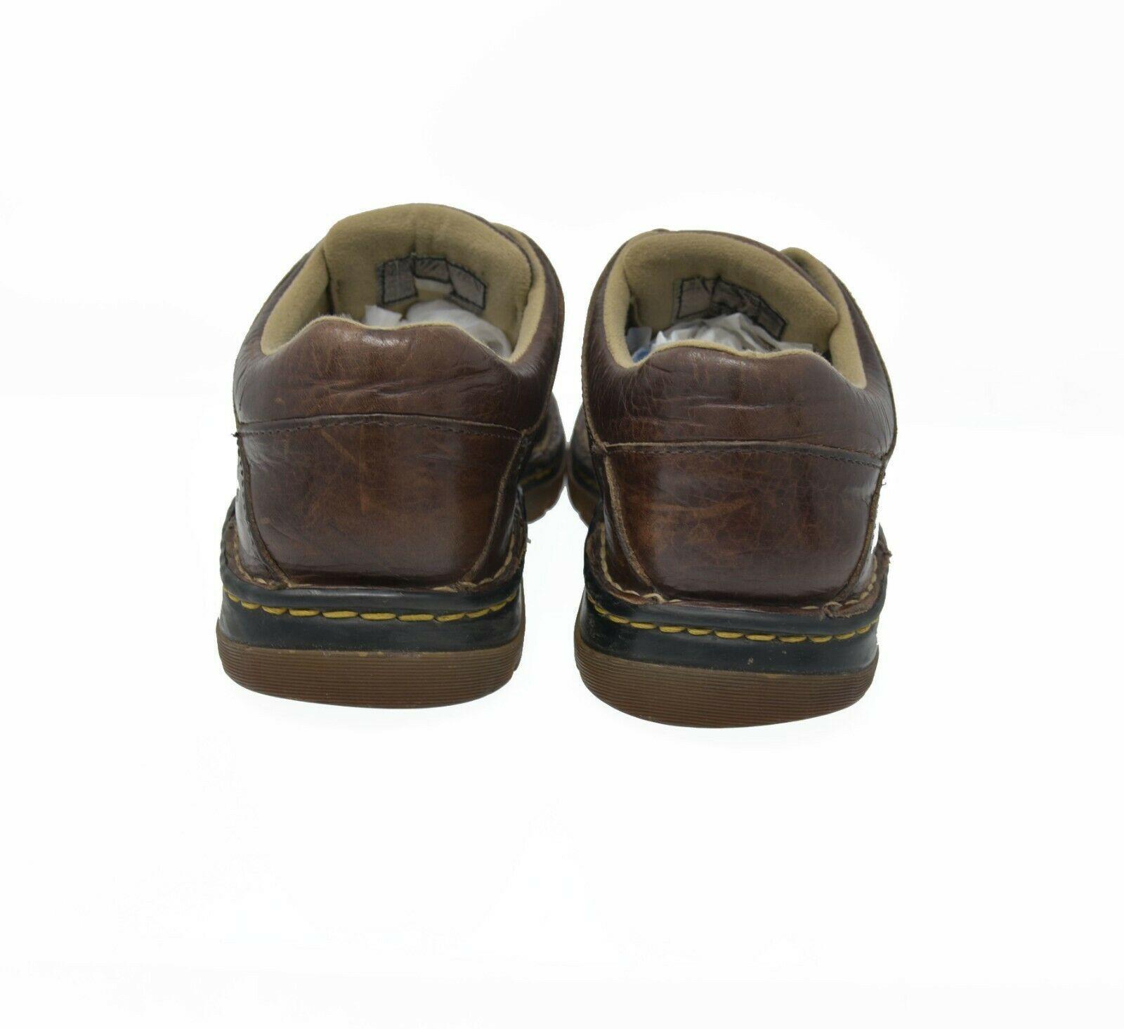 Doc Dr. Martens Men's Sz 10 EU 43 Brown Leather Lace Up Oxford Casual Shoes - $39.99