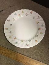 "WEDGWOOD Cascade 6 3/4"" Bread Plate China ENGLAND - Flower Pattern - $11.65"