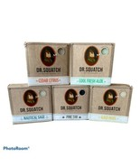 Dr. Squatch Men's Bar Soap 5 Pack Variety Aloe Sage Citrus Cold Moss Pin... - $59.39