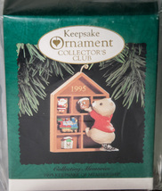 Hallmark Keepsake of Membership Ornament 1995 Collecting Memories NIB - $5.00
