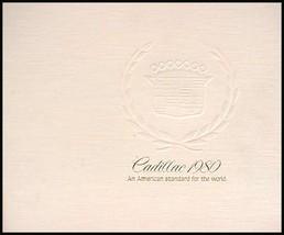 1980 Cadillac Dlx Brochure Eldorado Fleetwood Brougham - $8.40
