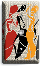 NATIVE AFRICAN TRIBAL WOMEN DANCING PHONE TELEPHONE WALL PLATES COVER RO... - $12.99