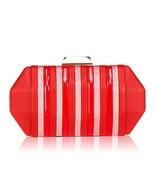 Women's Fashion Stripes Evening Bag, WALLYN'S Handbag Clutch Party Purse... - $18.28