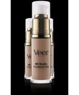 Authentic Veer Cosmetics Liquid HD Studio Foundation Nutmeg 0.68 fl oz 20 ml - $27.75