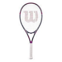 "Wilson Tour Slam Adult Strung Tennis Racket, 4 1/4"" - Purple - $31.31"