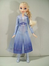 "NWOB DISNEY FROZEN II ELSA 11"" DOLL NEW LOOSE FOREST EXPEDITION DISNEY P... - $17.59"