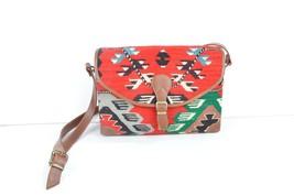 kilim bag,rug bags,bag,Old handbag,rug Postman's bag ,rug Leather Handbag  - $195.00