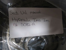 HYDRAULIC IND. MANUAL SECTIONAL VALVE 5082-A NEW image 3