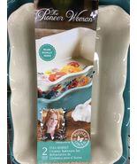 3.6 qt Bakeware The Pioneer Woman Flea Market 2-Piece Ruffle Large casse... - $54.00