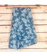Rue 21 Ladies Women's Blue & White Floral Print Skinny Jean Size 9 NWT - $23.00