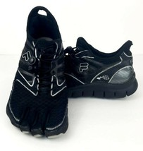 Fila Skele Toes Bare Five fingers Kids Water Shoes Size 5 Black  - €18,01 EUR