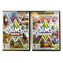 The Sims Lot 2 Seasons, and Pets Xpansion Packs Windows and Mac - $24.72