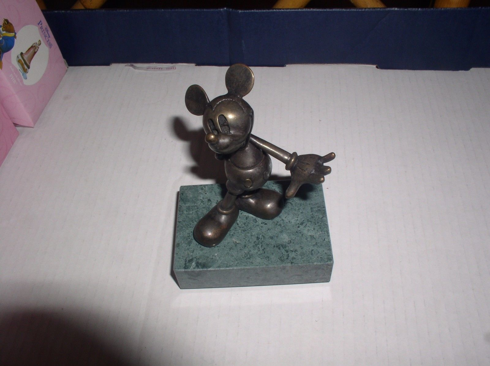 Disney Mickey Mouse Bronze LE Chilmark Limited Edition of 75 Orignial box #17/75 - $395.00