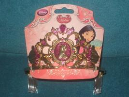 Disney Store Deluxe Mulan Jewel Crown Princess Tiara Dress Up. Brand New - $13.85