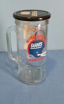 Vintage Super Bowl XXI Giants Football Champions Glass Drinking Cup/Mug ... - $9.49