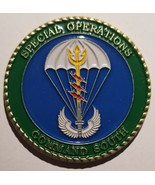 SOCOM SOUTH SOCSOUTH Special Operations Command SEALS ARMY GREEN BERETS ... - $197.99