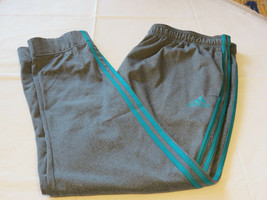 Adidas Climalite pants Men's active performance 2XL XXL ESS 3S Trico TP ... - $35.27
