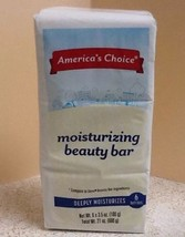 New in Pkg America's Choice Moisturizing Beauty Bars Soap Bars 6 Pk 3.5 ... - $23.70