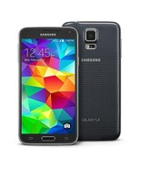NEW Samsung Galaxy S5 SM-G900 (GSM UNLOCKED) Black 4G LTE Android Cellul... - $139.97