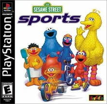 Sesame Street Sports Playstation PS1  Complete CIB - $10.66