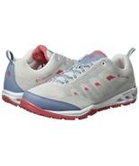 Columbia Women's Vapor Vent Trail Hiking Shoes BL4524, White/Wild Samon,... - $59.39