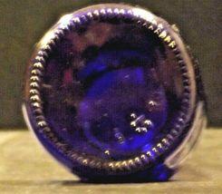 Blue Cobalt Bottle with Porcelain Swing Little John's Kansas City KS AA19-1570 V image 6