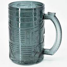 Paladone DC Comics Batman Bat Signal Symbol 750ml Smoky Glass Drinking Stein Mug image 3