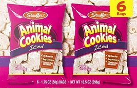 Stauffer's Iced Animal Cookies 6 Count Box (3 Boxes) - $19.79