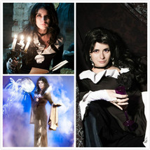 Yennefer of Vengerberg Witcher Saga Dress Witcher Saga Costume  - $125.00