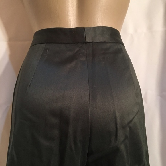 Banana Republic dark Olive Green cotton casual pants 6