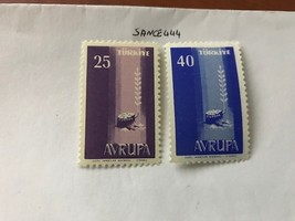 Turkey Europa 1958 mnh - $1.25