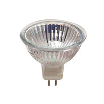 50W MR16 Lensed Very Wide Flood GU5.3 12V Halogen Quartz Reflector Lamp, Case of - $111.76
