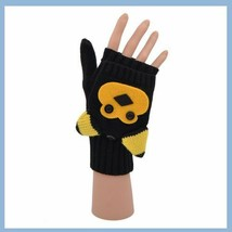 Flip Mittens Bear - Unisex One Size Fits Most - Mittens to Fingerless Gloves image 2