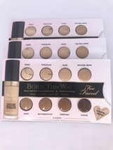 3x TOO FACED Born This Way Multi-Use Sculpting Concealer 8-Shade Sample ... - $21.73