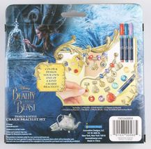 Disney Beauty And The Beast Design & Style Charm Bracelet Set NIB image 3