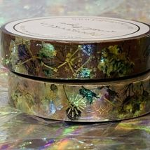 SEALED Papergeek Paper Geek 2x Fall Leaves & Constellation Washi Tape 33' Each image 3