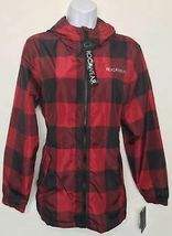 Rocawear Women's Black & Red Plaid Hooded Jacket Sz XL -NEW WITH TAGS- STORE image 4