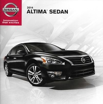 2014 Nissan ALTIMA SEDAN sales brochure catalog US 14 S SV SL - $6.00